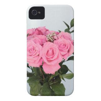 Coques iPhone 4 Case-Mate Bouquet vibrant de beaux roses roses