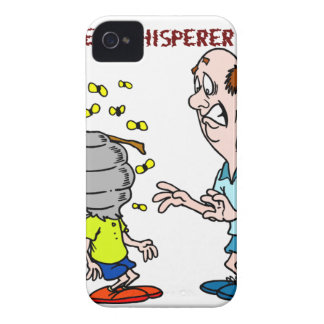 Coques iPhone 4 Case-Mate Bourdon de Whisperer d'abeille d'amants d'abeilles