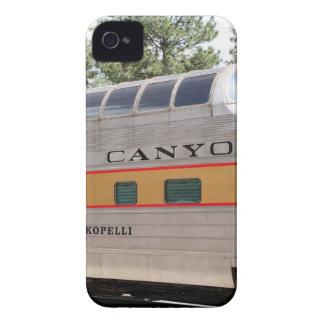 Coques iPhone 4 Case-Mate Chariot ferroviaire de canyon grand, Arizona