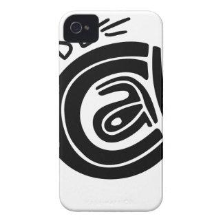 Coques iPhone 4 Case-Mate Chat à l'intérieur de conception de lettrage