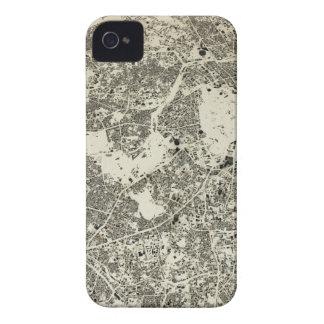 Coques iPhone 4 Case-Mate Conception vintage de rues et de bâtiments de