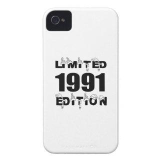 COQUES iPhone 4 Case-Mate CONCEPTIONS 1991 LIMITÉES D'ANNIVERSAIRE D'ÉDITION