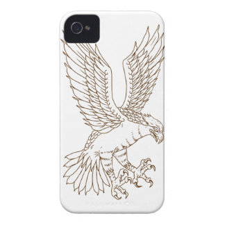 Coques iPhone 4 Case-Mate Dessin Swooping de balbuzard