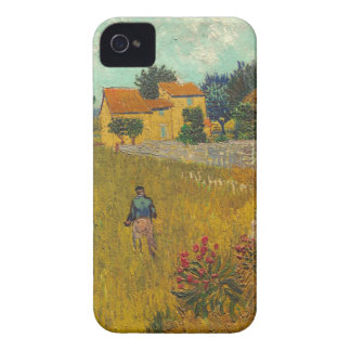 Coques iPhone 4 Case-Mate Ferme de Vincent van Gogh | en Provence, 1888