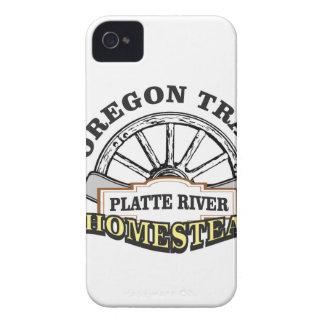 Coques iPhone 4 Case-Mate ferme la rivière Platte