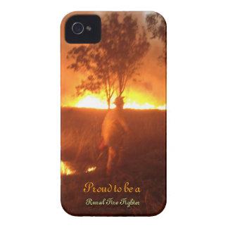 Coques iPhone 4 Case-Mate Fier d'être un pompier rural Iphone 4g BTC
