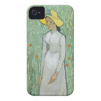 Coques iPhone 4 Case-Mate Fille de Vincent van Gogh | dans le blanc, 1890