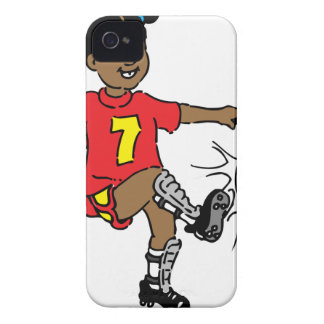 Coques iPhone 4 Case-Mate Fille jouant au football