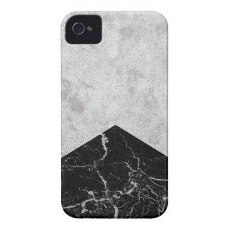 Coques iPhone 4 Case-Mate Granit concret #844 de noir de flèche