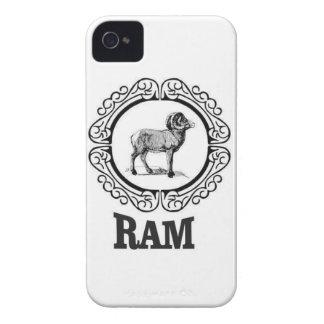Coques iPhone 4 Case-Mate guerrier de RAM
