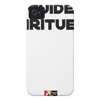 Coques iPhone 4 Case-Mate Guide Spiritueux - Jeux de Mots - Francois Ville