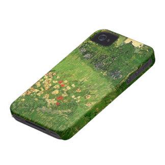 Coques iPhone 4 Case-Mate Jardin de Van Gogh Daubigny, beaux-arts vintages