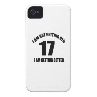 Coques iPhone 4 Case-Mate Je n'obtiens pas vieux 17 que je vais mieux