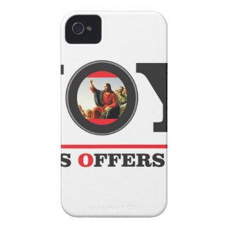 Coques iPhone 4 Case-Mate Jésus vous offre l'étiquette de joie