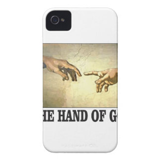 Coques iPhone 4 Case-Mate la main d'un dieu