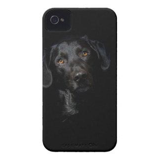Coques iPhone 4 Case-Mate Labrador retriever noir personnalisable