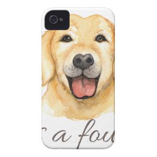Coques iPhone 4 Case-Mate L'amour est un mot quatre à jambes