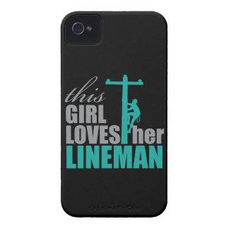 Coques iPhone 4 Case-Mate le cas de l'iPhone 4 cette fille aime son monteur