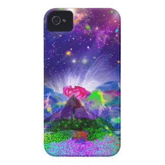 Coques iPhone 4 Case-Mate Les couleurs et les étoiles allument la nuit