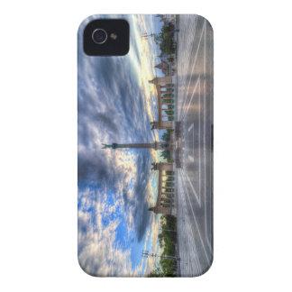 Coques iPhone 4 Case-Mate Les héros ajustent le lever de soleil de Budapest