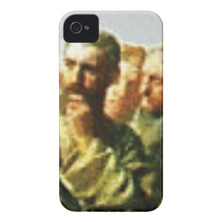 Coques iPhone 4 Case-Mate L'homme frotte son menton