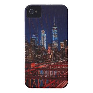 Coques iPhone 4 Case-Mate Lumières de nuit de New York City de pont de