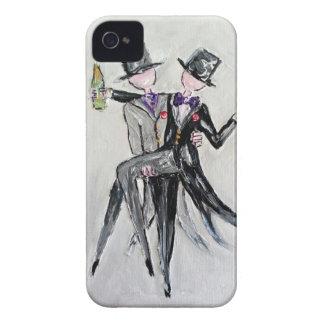 Coques iPhone 4 Case-Mate M. et M. cartes et cadeaux de mariage