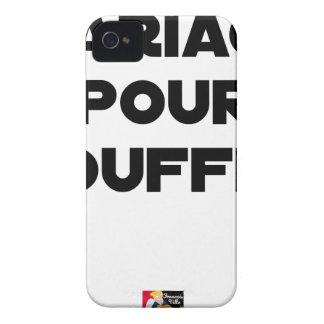Coques iPhone 4 Case-Mate MARIAGE POUR TOUFFES - Jeux de Mots
