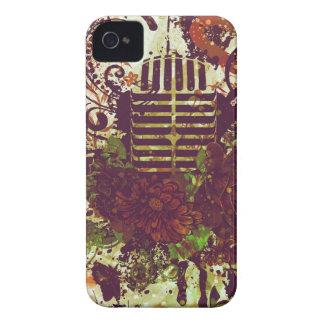 Coques iPhone 4 Case-Mate Microphone vintage de musique