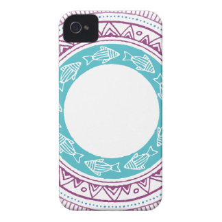 Coques iPhone 4 Case-Mate Miscellaneous - Tribal Mandalas Patterns Eighteen