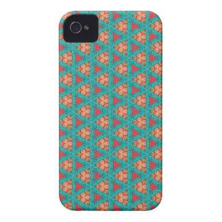 Coques iPhone 4 Case-Mate motif orange bleu