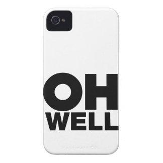 Coques iPhone 4 Case-Mate Oh, texte, mots d'exaspération