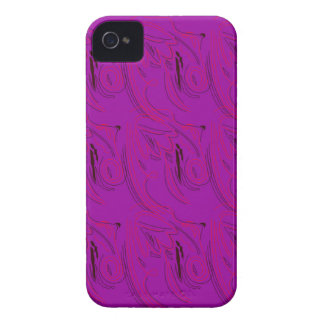 Coques iPhone 4 Case-Mate Ornements pourpres/magasin