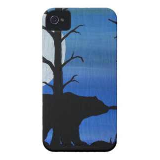 Coques iPhone 4 Case-Mate Ours noir