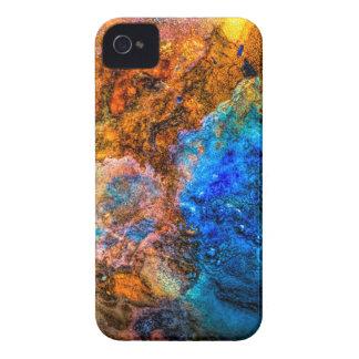 Coques iPhone 4 Case-Mate Peinture colorée de texture abstraite de pierre