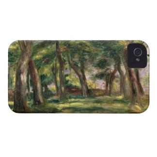 Coques iPhone 4 Case-Mate Pierre arbres de Renoir un |