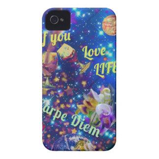 Coques iPhone 4 Case-Mate Saisissez le jour est Carpe Diem
