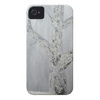 Coques iPhone 4 Case-Mate Scène de verger d'hiver
