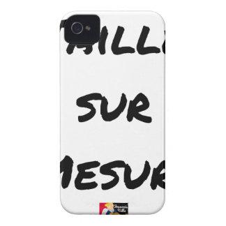 Coques iPhone 4 Case-Mate TAILLÉ SUR MESURE - Jeux de mots - Francois Ville