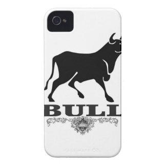 Coques iPhone 4 Case-Mate Taureau de plate-forme dans le noir