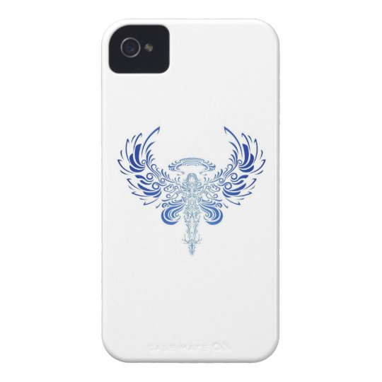 Coques iPhone 4 Case-Mate tribal angel