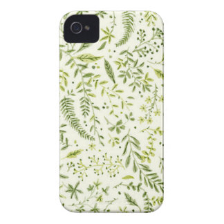 Coques iPhone 4 Case-Mate Tropical green pattern