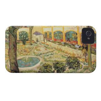 Coques iPhone 4 Case-Mate Vincent van Gogh | le jardin d'asile chez Arles