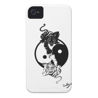 Coques iPhone 4 Case-Mate Ying yang tiger