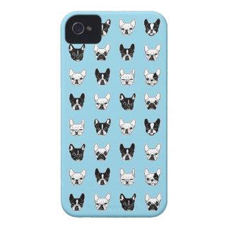 Coques iPhone 4 Collage mignon de famille de chienchien de