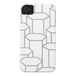 Coques iPhone 4 Colonnes hexagonales