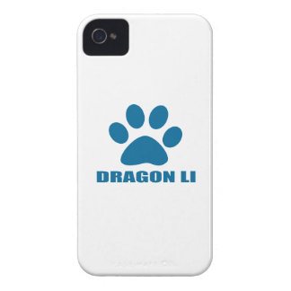 COQUES iPhone 4 CONCEPTIONS DE CAT DE LI DE DRAGON