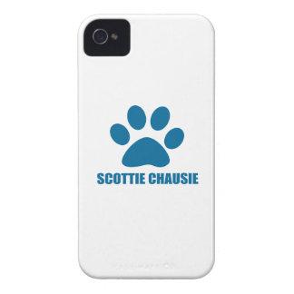 COQUES iPhone 4 CONCEPTIONS DE CAT DU SCOTTIE CHAUSIE