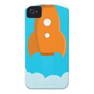 Coques iPhone 4 Décollage de bateau de Rocket