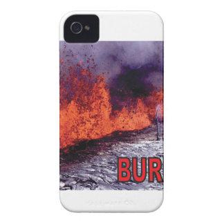 Coques iPhone 4 force et bruit brûlés